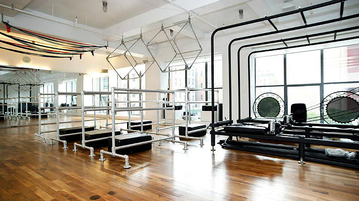 Tracy Anderson Method fitness studio.