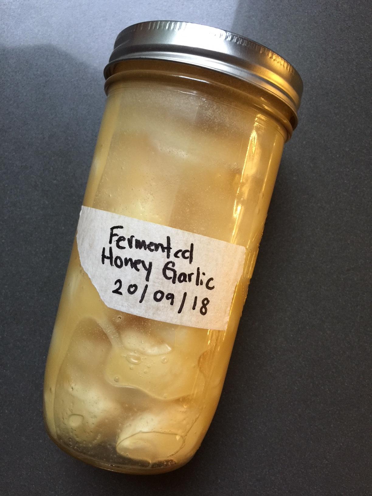 Fermented Honey Garlic Ferments Fermented Honey Garlic