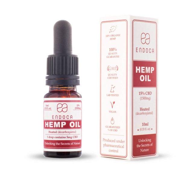 Hemp Oil Drops 1500mg CBD - (Cannabidiol) (15%)Use code: BecomingFullyHuman for a discount on all Endoca orders.