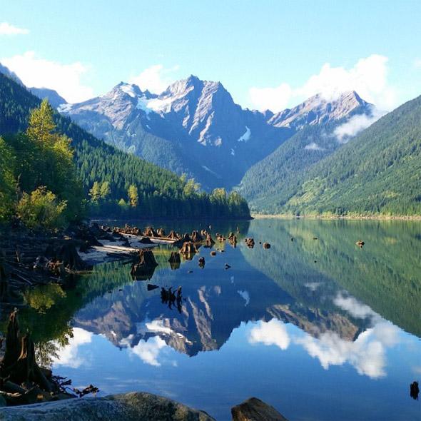 Jones Lake, Chilliwack, BC.