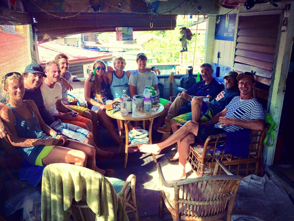 Working on an island in the BVI's, hanging out with staff. Island life is one of the easiest ways to make incredible friends, because the lifestyle attracts amazing human beings.