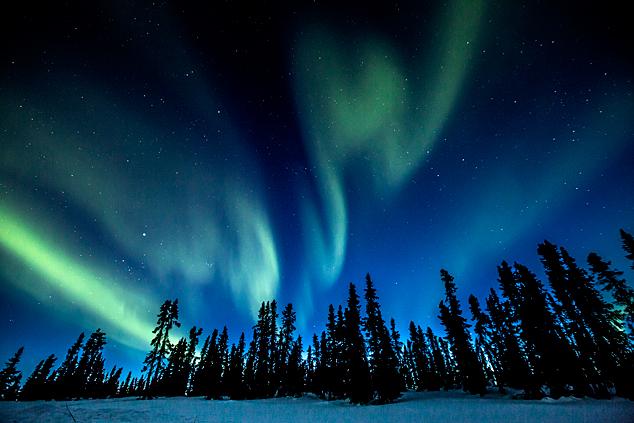 Northern Lights, Canada.