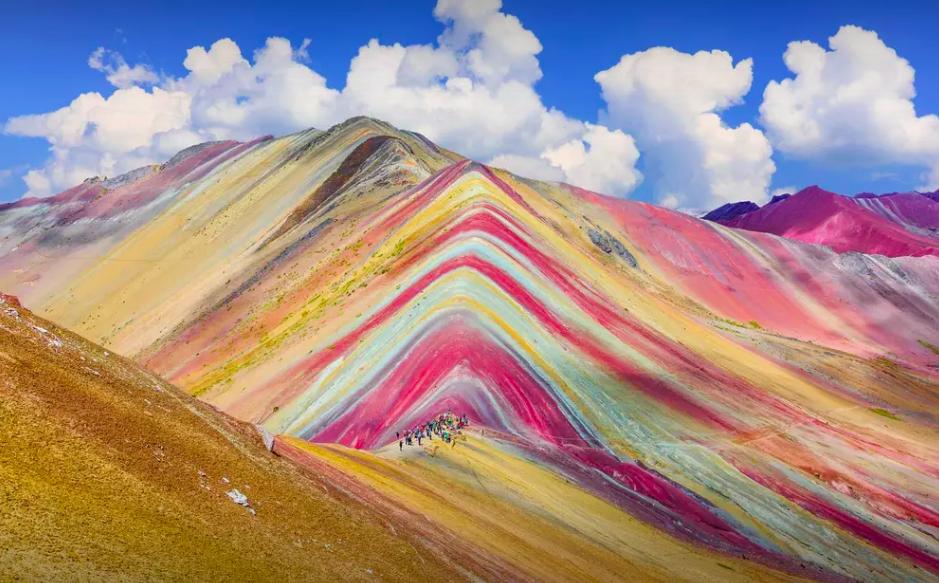 Rainbow Mountain, Cusco, Peru.
