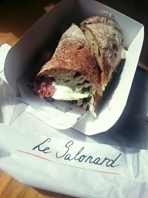 Le Salonard for some seriously gangster sandwich action.