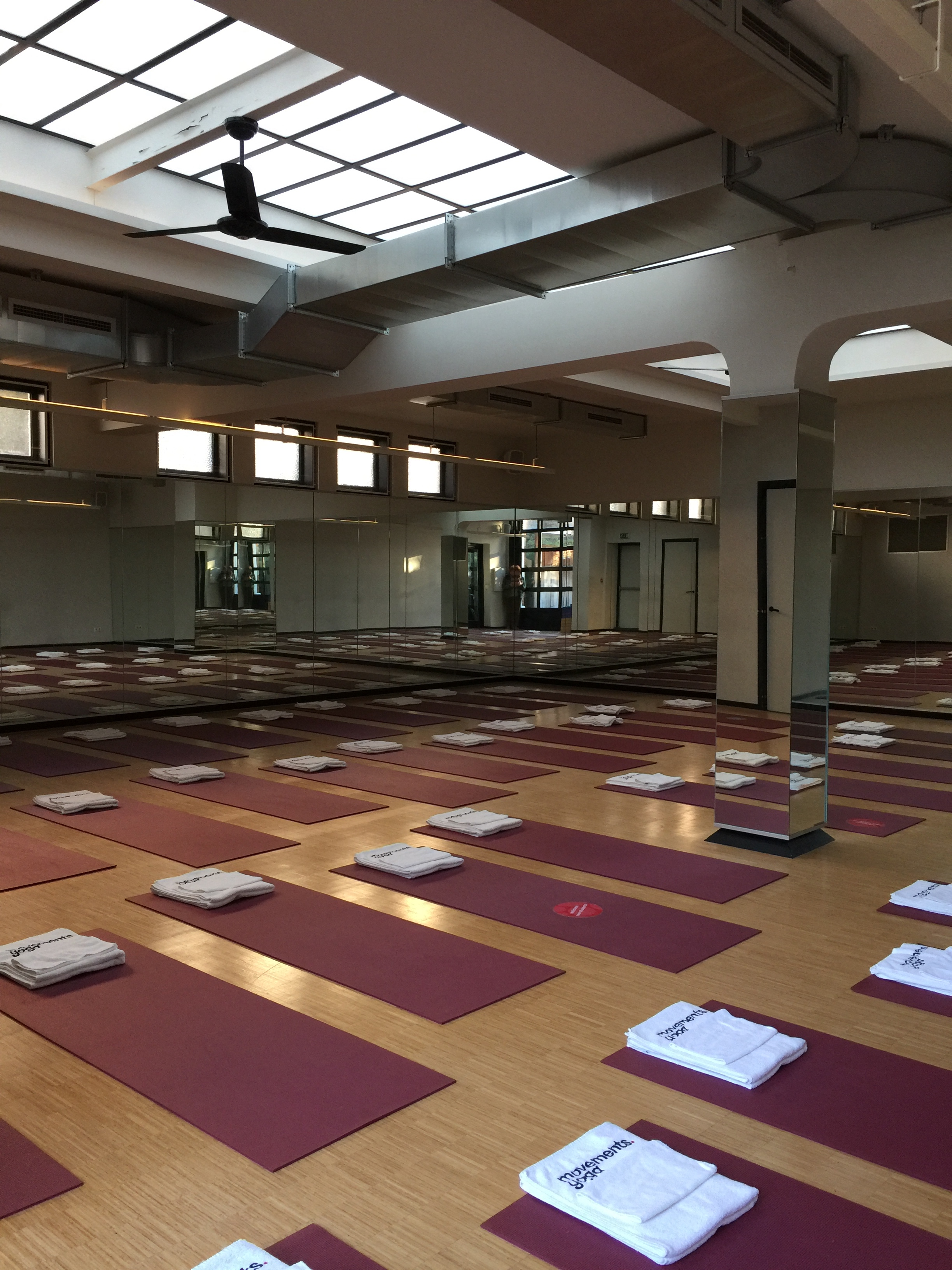 The studio in which I attended the Wim Hof breathwork workshop.