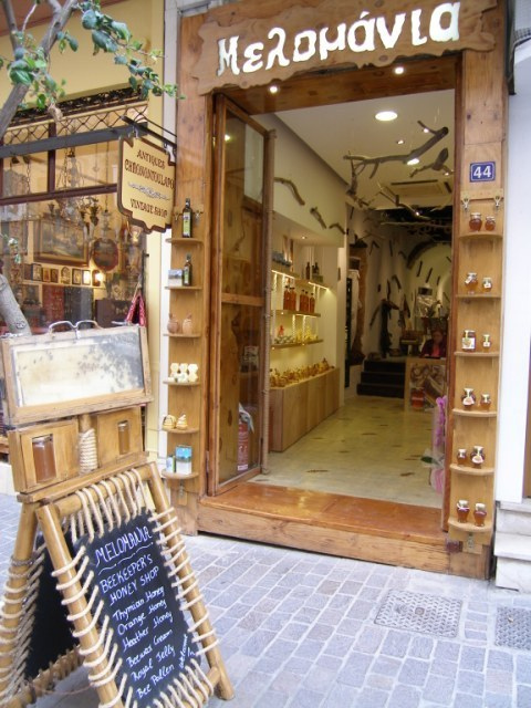 Melomania honey shop.