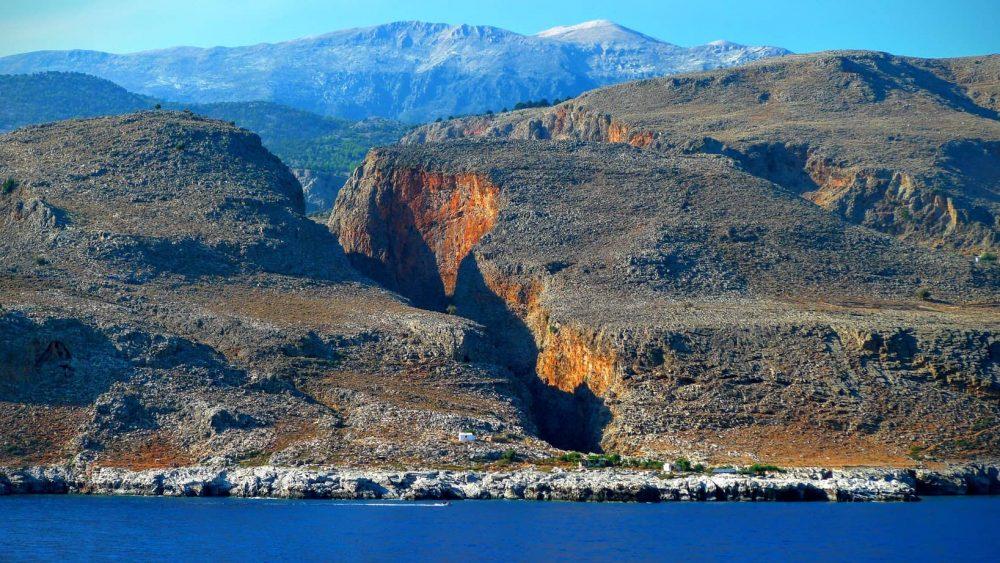 Aerial image of Samaria: Rental-Center-Crete.