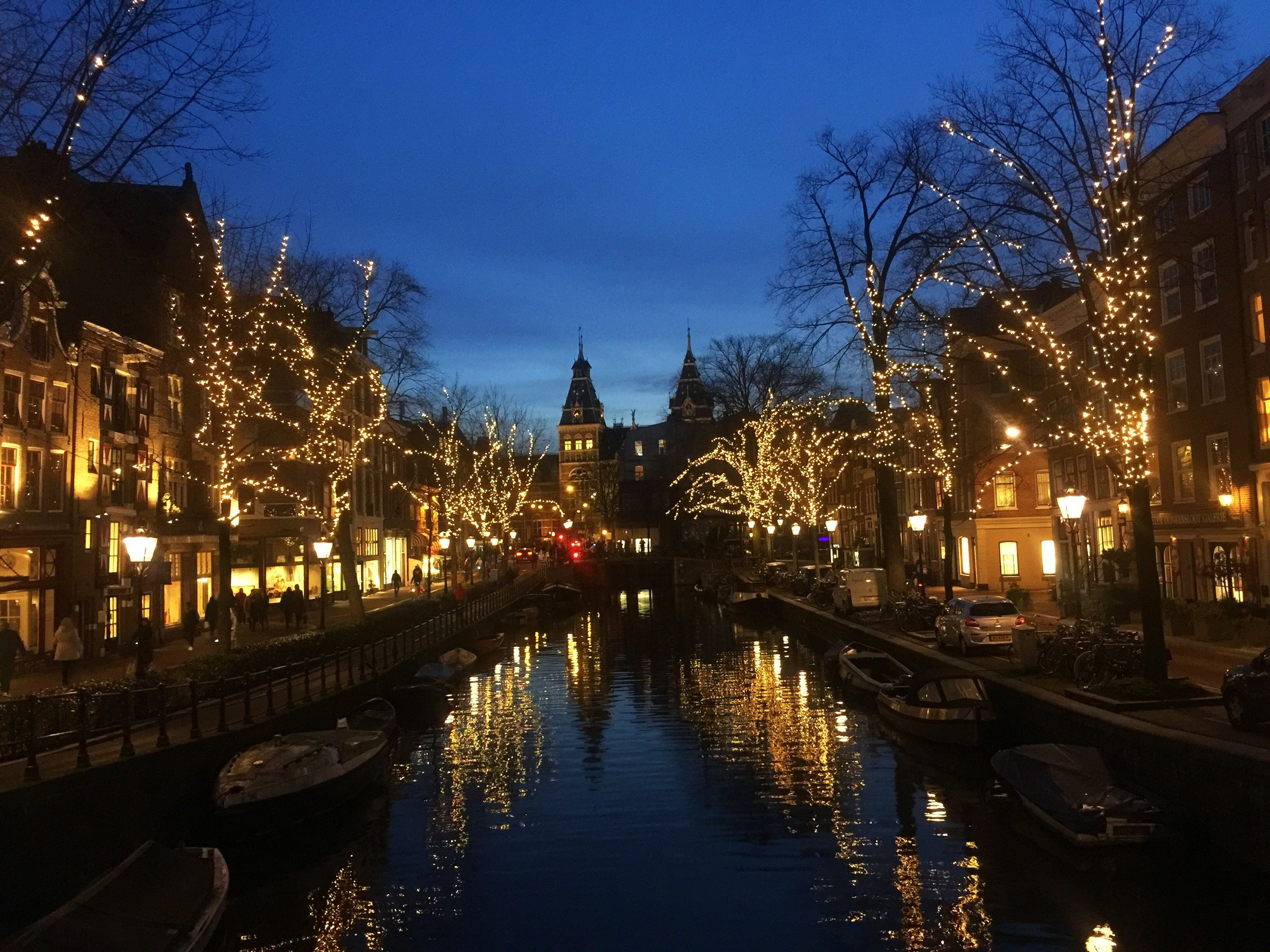 Amsterdam is such a gorgeous city.