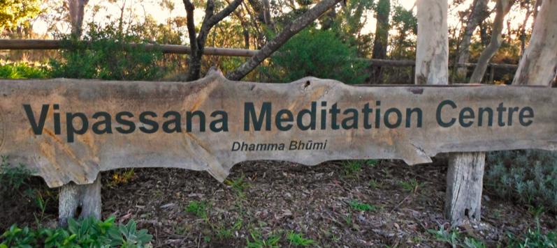 The Dhamma Bhumi Vipassana Meditation Centre in the Blue Mountains, near Sydney Australia.