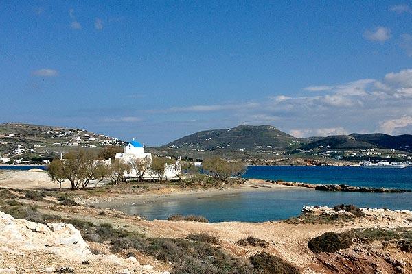 The area around Agios Fokas church/ lighthouse.