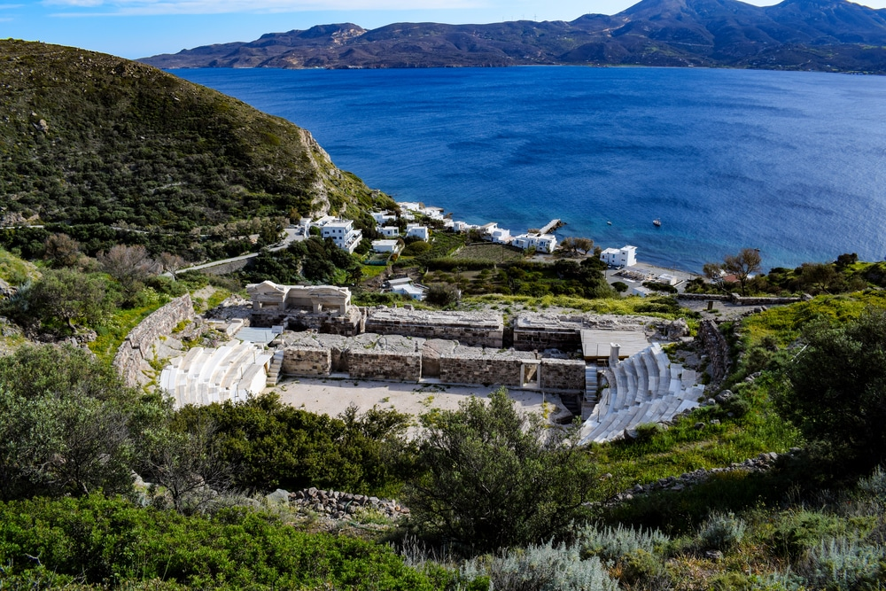 Milos Ancient Theatre.