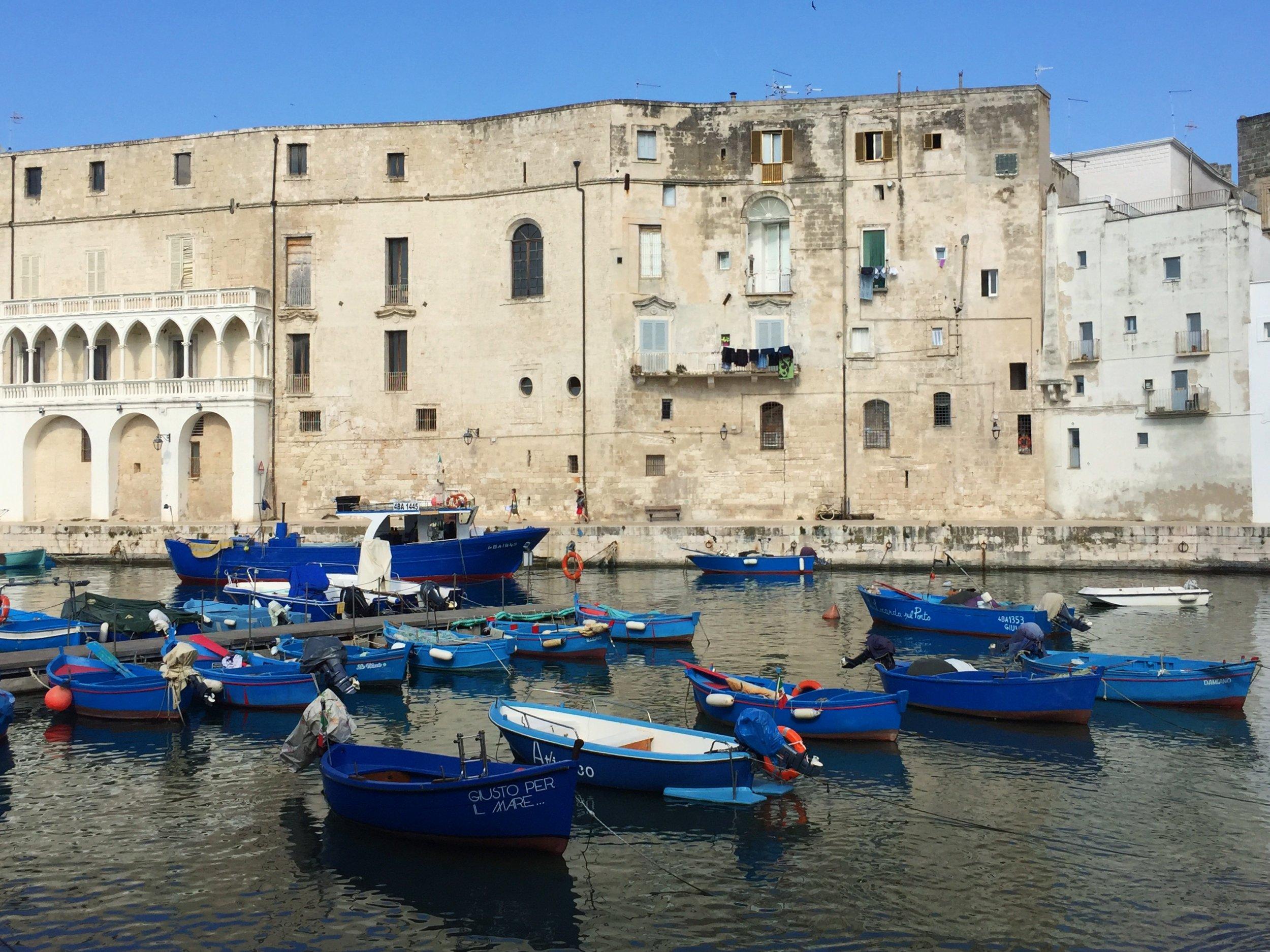 Fishing port in Monopoli