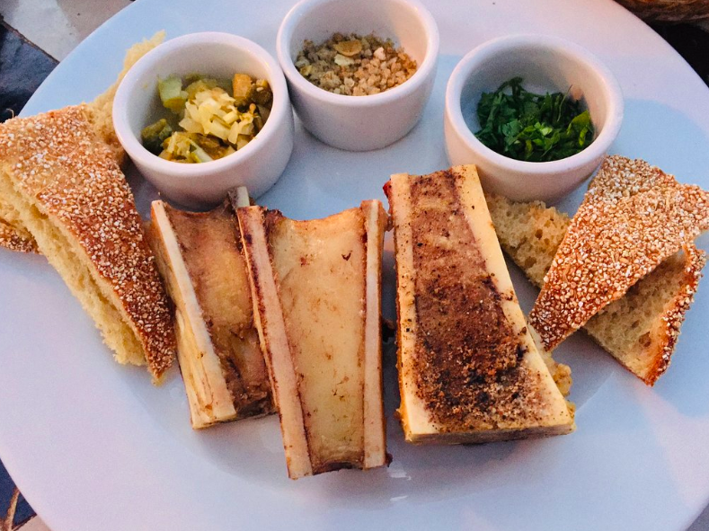 Bone marrow from Nomad, Marrakech.