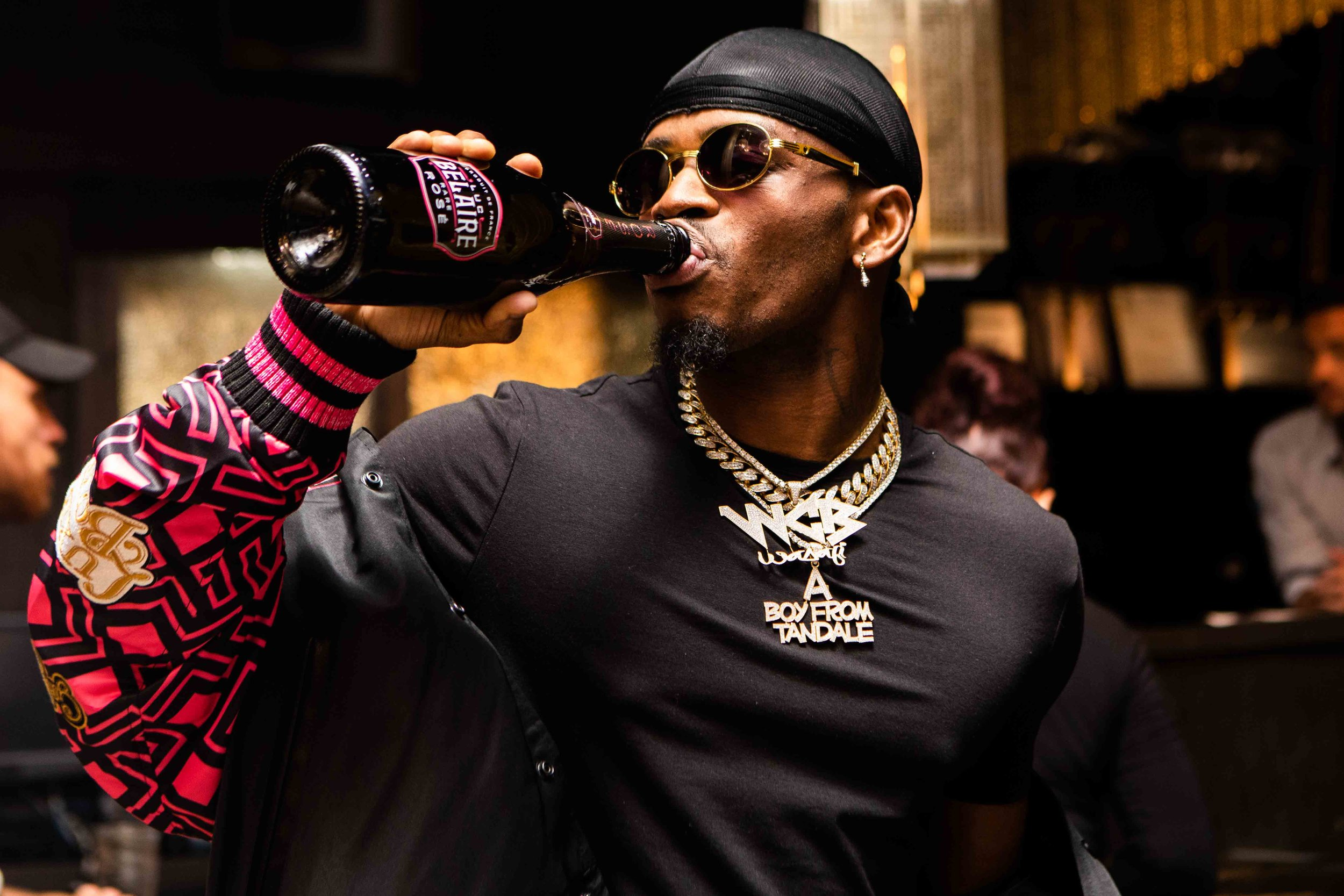 DIamond Platnumz For Luc Belaire - in association with Parks Randa