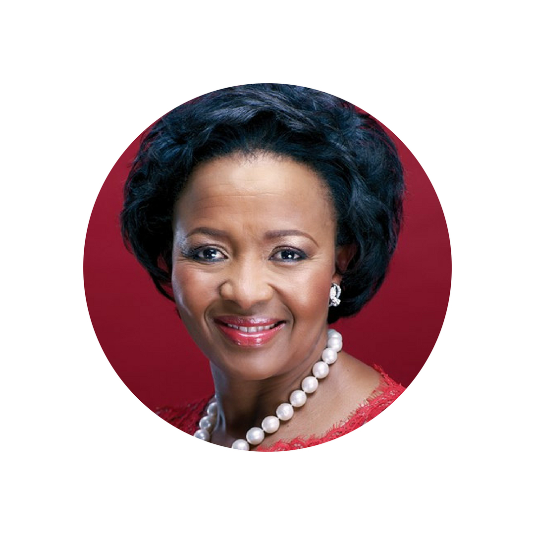 WENDY LUHABE (SOUTH AFRICA)   Social entrepreneur, women's economic activist, and thought leader