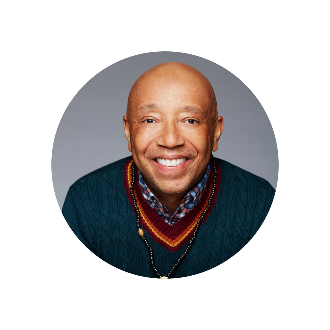 RUSSELL SIMMONS (USA)   Entrepreneur, author, activist, yogi and philanthropist