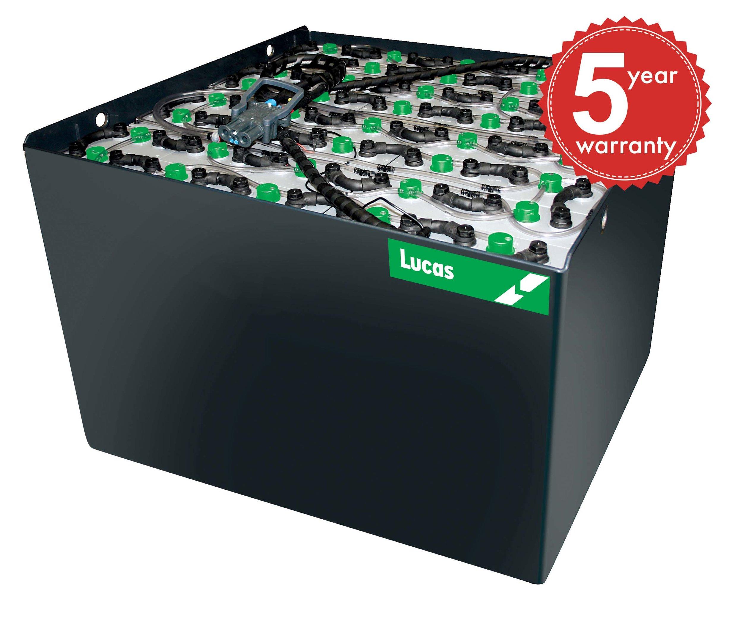Lucas Battery 5 year warranty