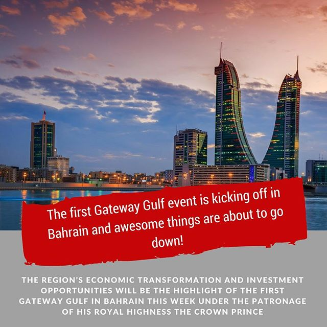 The first Gateway Gulf event is kicking off in Bahrain and awesome things are about to go down! (Link in bio)