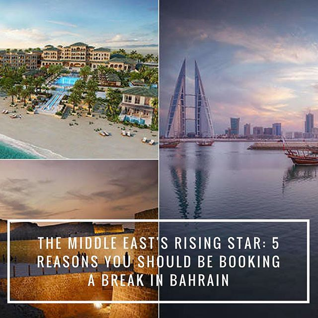 The Middle East's rising star: 5 reasons you should be booking a break in Bahrain (link in bio)