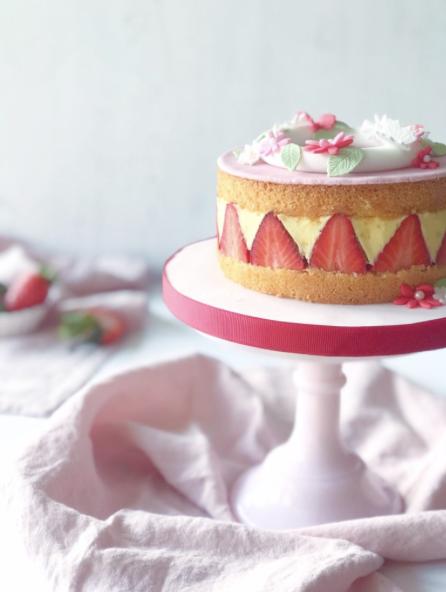 Fraisier-Cake