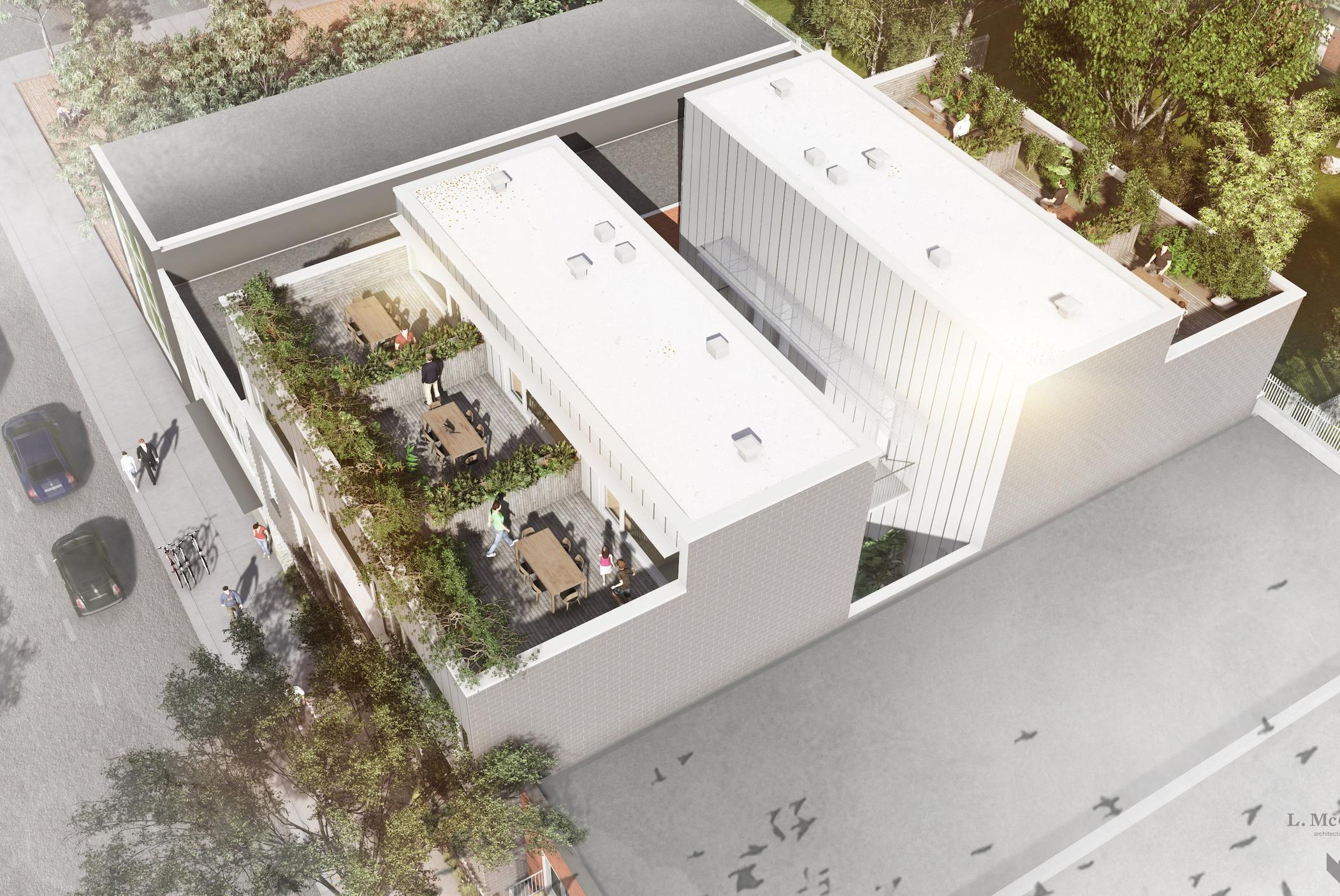 À VOL D'OISEAU - L. Mc Comber  - Architecture vivante