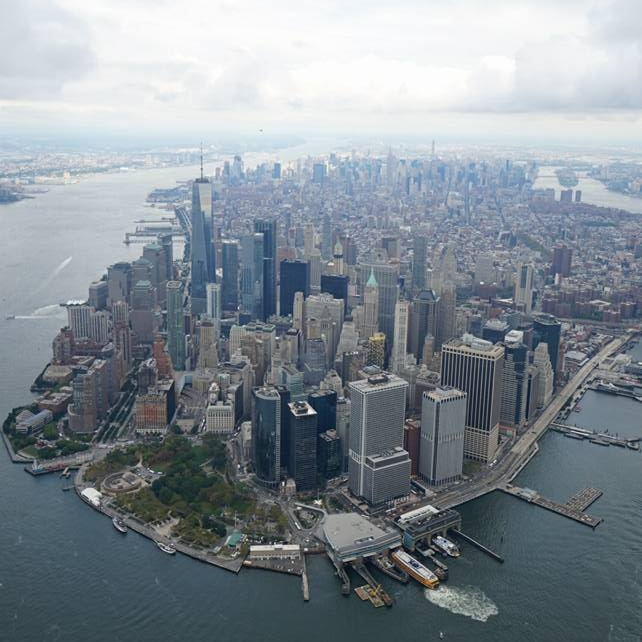 Extreme Helicopter Ride. - No Door experience over New York City