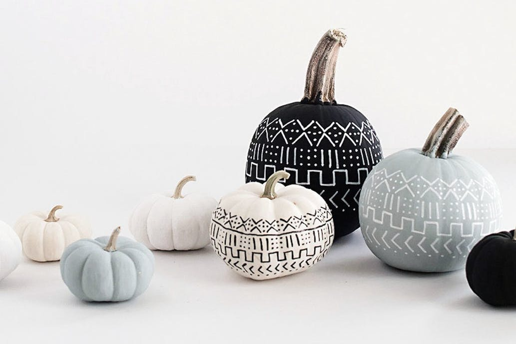 Pumpkins - If carving isn't your thing, you can create some amazing and unique looks with a little paint! A great craft to do with the kids as well.