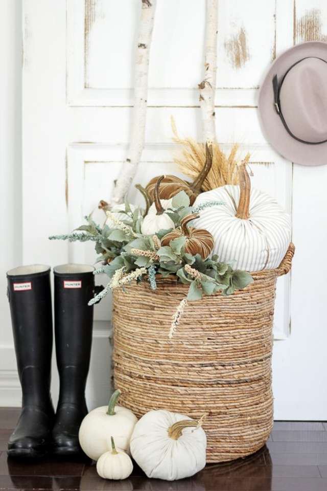 Baskets - If you've ever been to The NAT, you know we have a basket addiction! Whether they're sitting on your porch or in your home, baskets are a great addition to any space. Use them to store all your cozy blankets, or if you fill them full of pumpkins, we think they're a necessity.