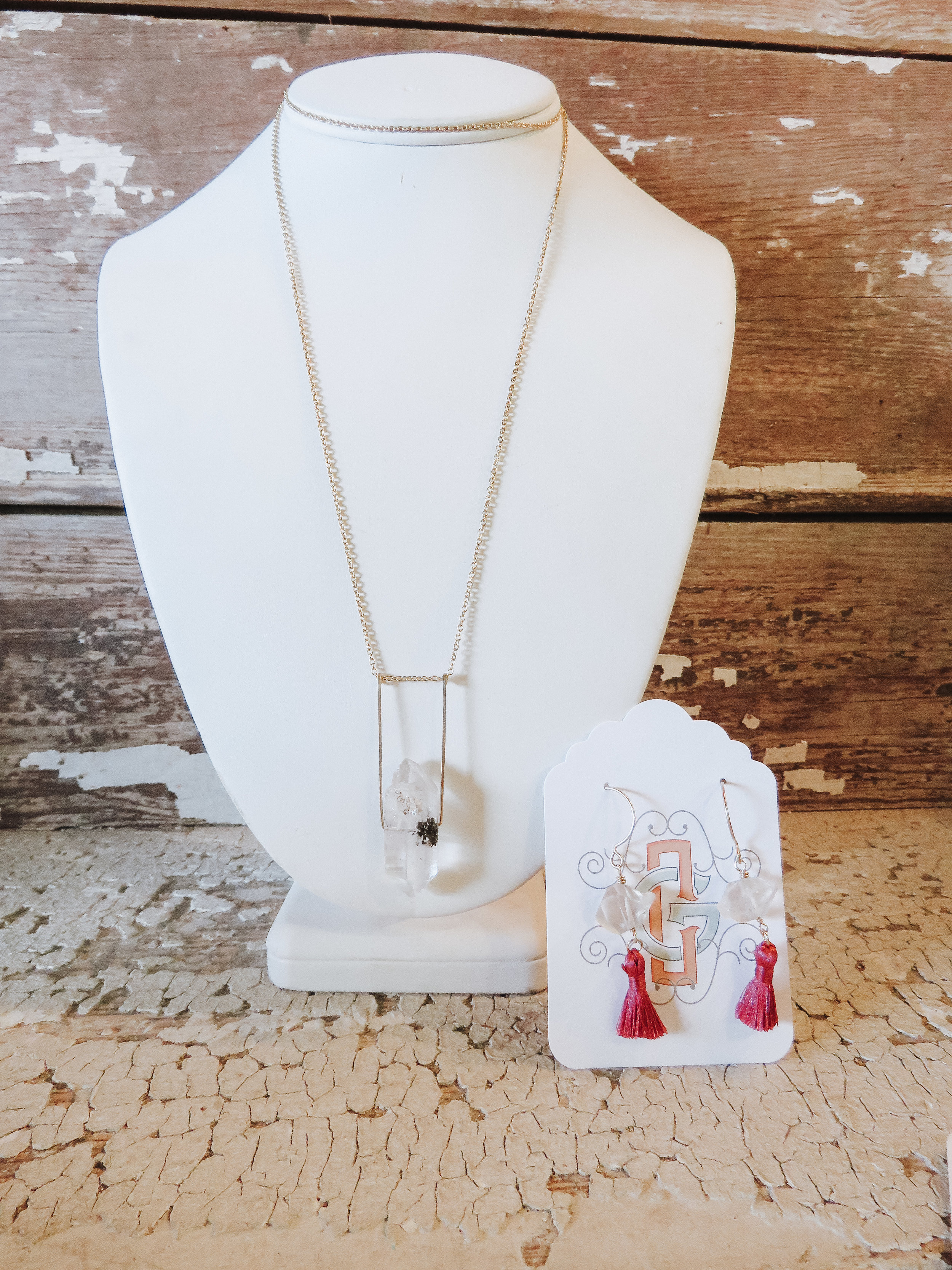 Jewelry - CharlieGirl is a gift that never disappoints! Her handmade designs and devotion to ethically sourced materials make this present that much more special. Scroll below to see some of the other pieces we're currently carrying!