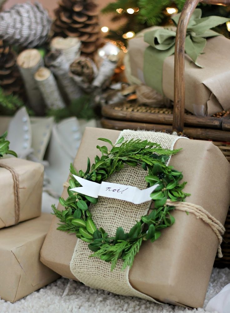 Wreaths - Many of our vendors carry small wreaths, and they can bring a wonderful natural element to your gifts. They are a beautiful way to personalize your presents this holiday season!