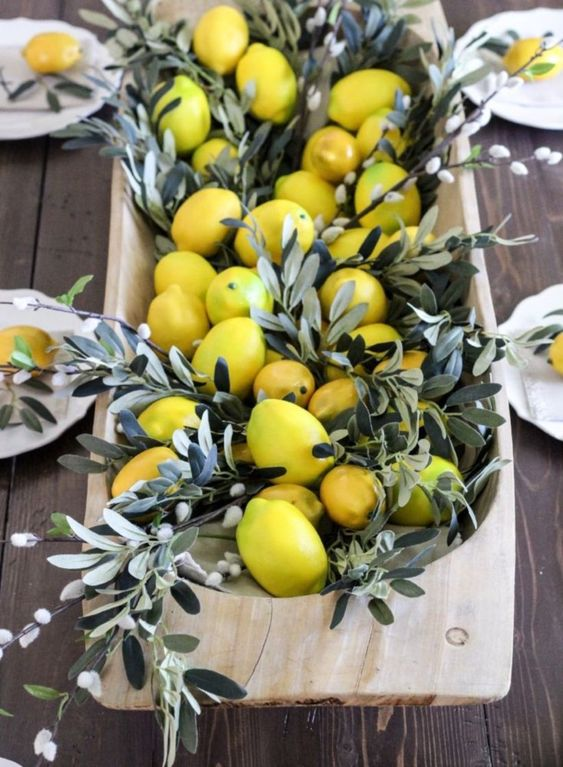 Dough Bowls - Dough Bowls can be used for many things - including your next centerpiece. Fill with your favorite springtime fruits/veggies or some great florals for an updated fresh look in your dining room.
