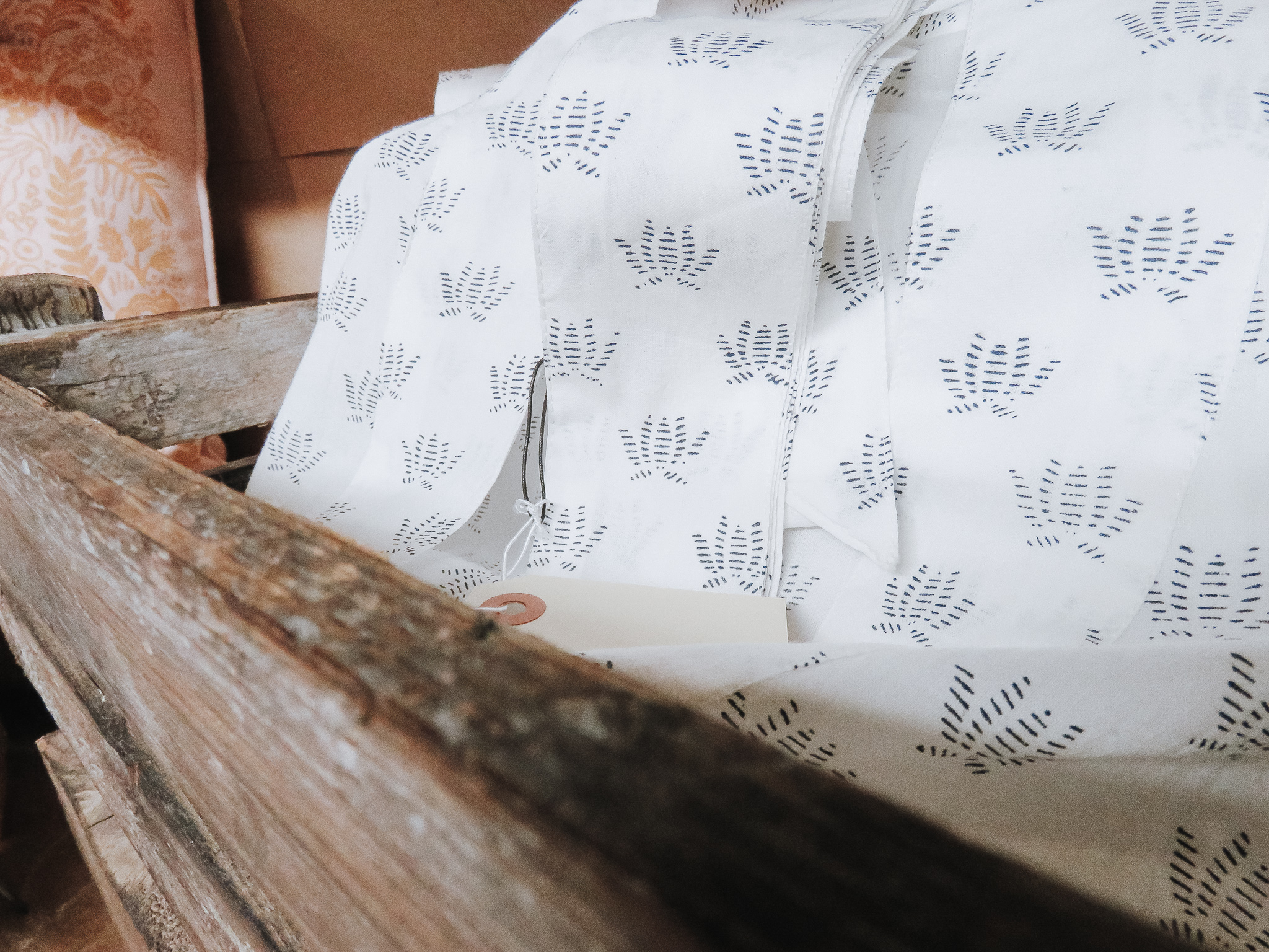 Shower with Love - From 6th Collective is currently stocking these hand-stamped cotton robes. Pair with a bath bomb or slippers and you're all set for Mother's Day!