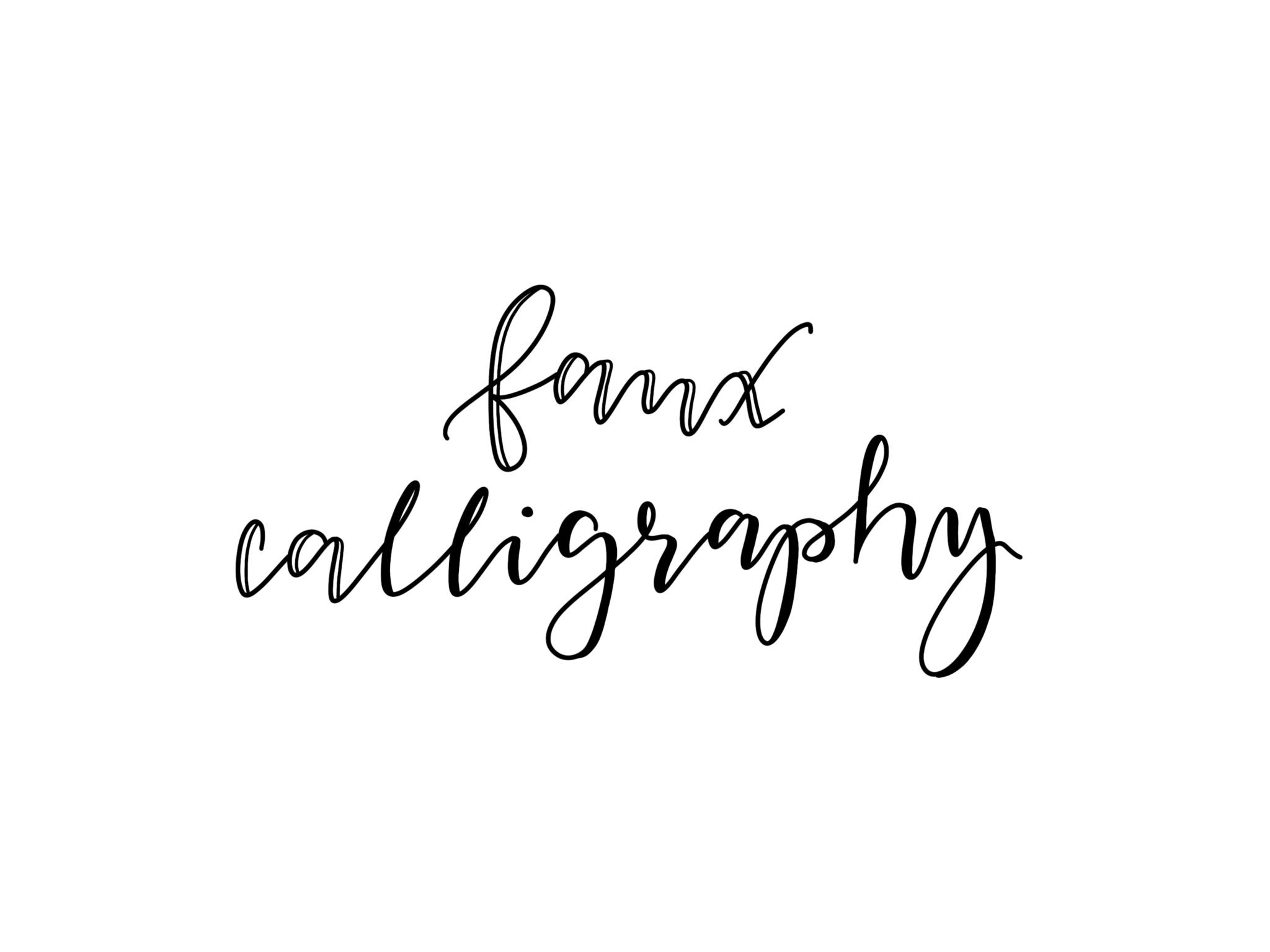Faux Calligraphy falsche Kalligrafie Handlettering Lettering GoneCreating Gone Creating Workshop kreative Auszeit Ostschweiz Schweiz
