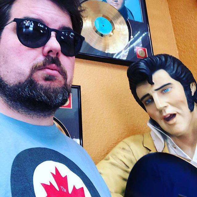 Some kinda Elvis thing...