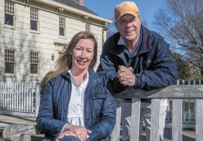 Michael Heller    Rose Brown, a first-time candidate for East Hampton Village Board, is running on the Fish Hooks Party ticket with Arthur Graham, an incumbent seeking his first full term.