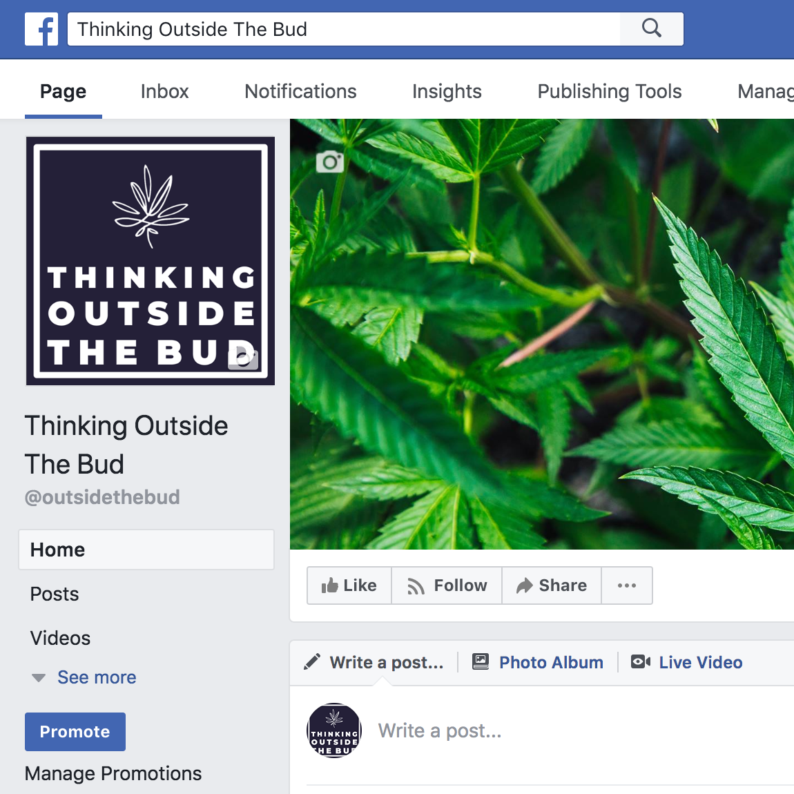 Thinking Outside The Bud - Facebook