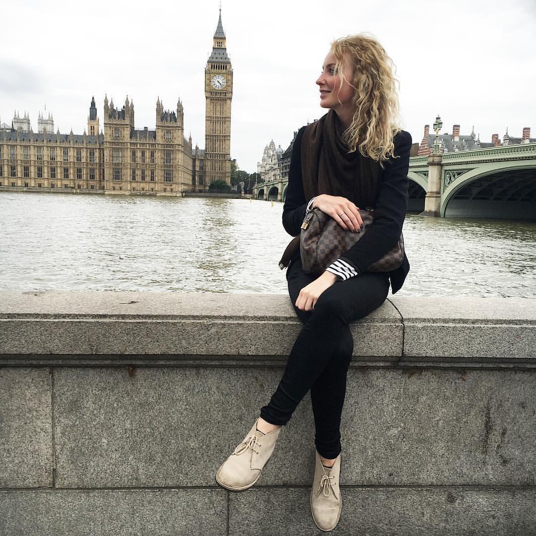 Valerie de Jong in London