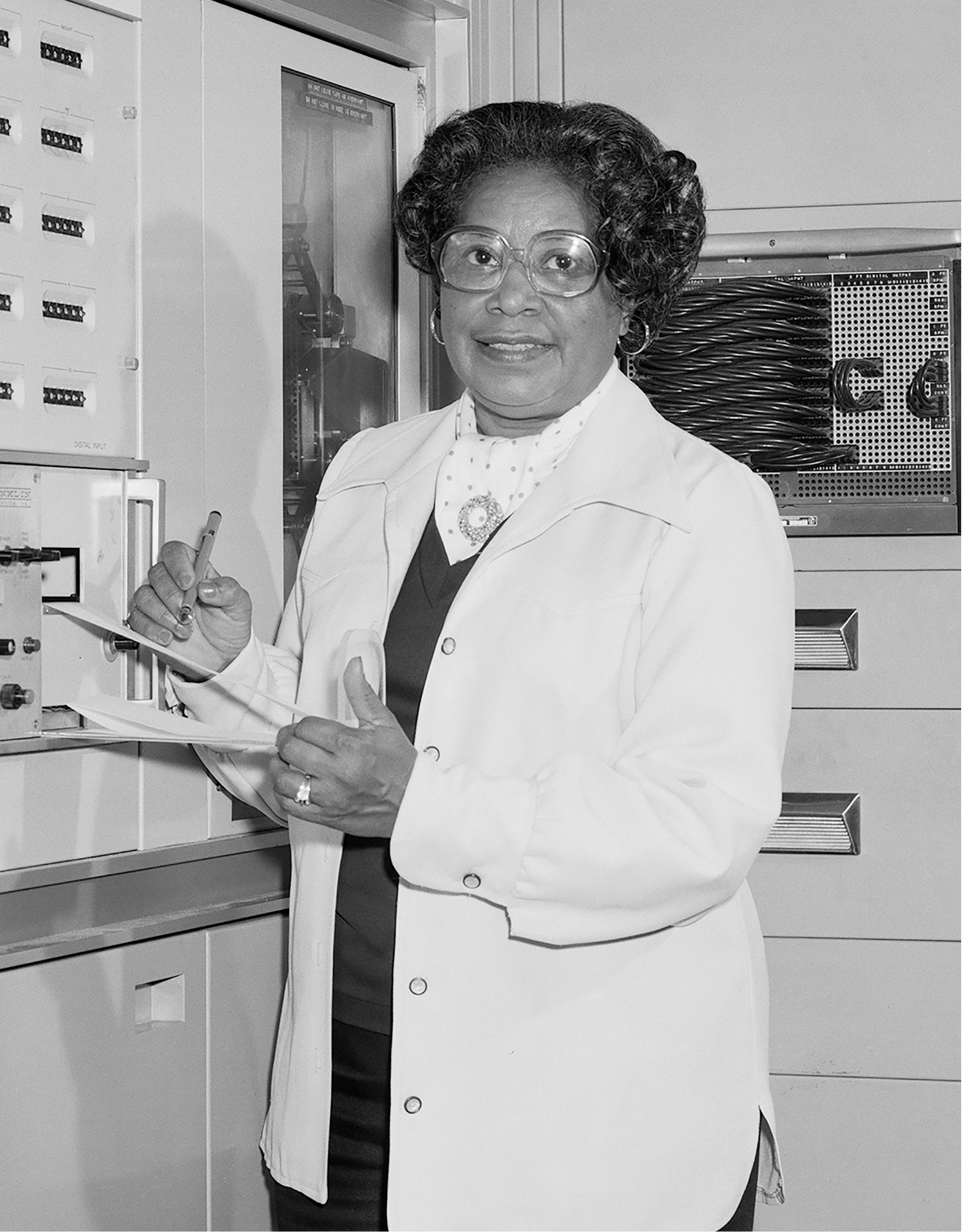 """Mary Jackson was one of the """"human computers"""" portrayed in the film """"Hidden Figures.""""Credit: NASA"""