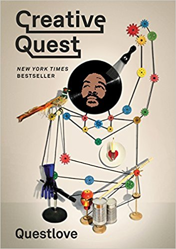 Creative Quest by QuestLove - I was so excited when Jen told me she was reading this book because I love Questlove and The Roots. I think he's such a talented musician and while I have a few issues with Jimmy Fallon, he made a great decision hiring The Roots. As much as I enjoy his music, I didn't know too much about Questlove himself but after reading Jen's review, I picked up a copy at the airport and started reading it on my flight.