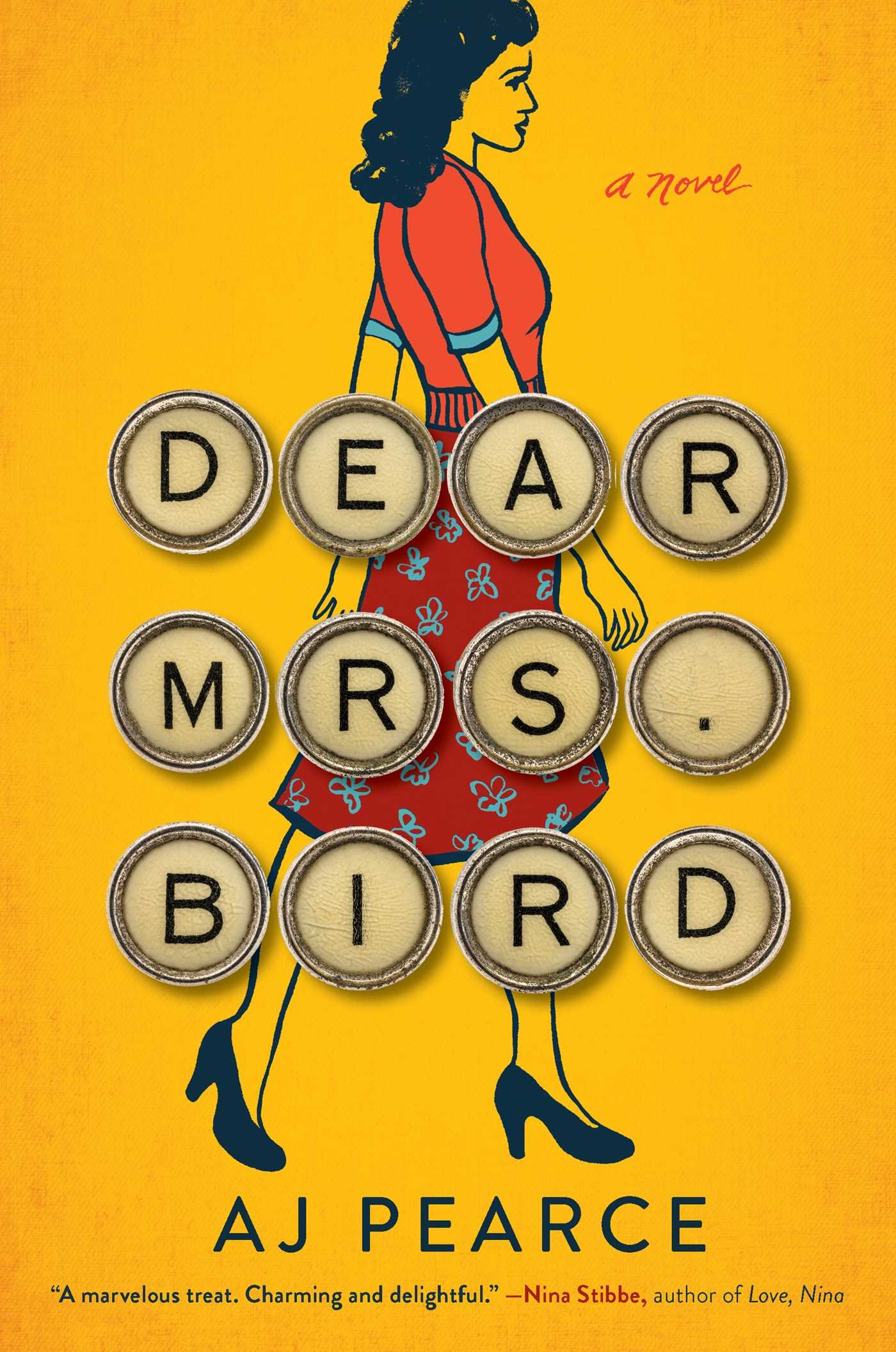 """Dear Mrs. Bird by AJ Pearce - When Jen came to visit, I remember she was raving about the amount of Dear Mrs. Bird that she had gone through. We had an easy day during her visit, relaxing poolside with books and I remember at one point she excitedly looked up at me and said, """"there's been a bombing and I can't talk to you now because I need to know what happens!"""" If any book can make Jen feel like that, I need to know more about it and then I need to share it with my readers! I'm so glad that Jen managed to get this review for me because I legit picked it up at my library the day after I got this review because Jen just made it seem that good!"""