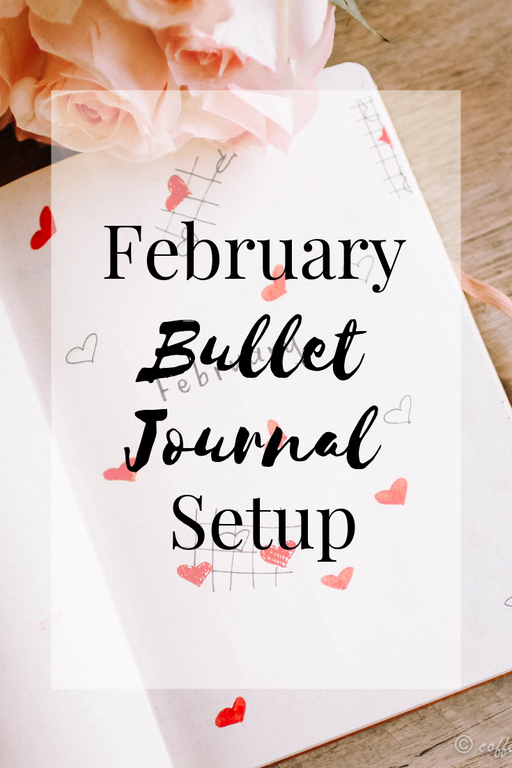 February Bullet Journal Plan With Me