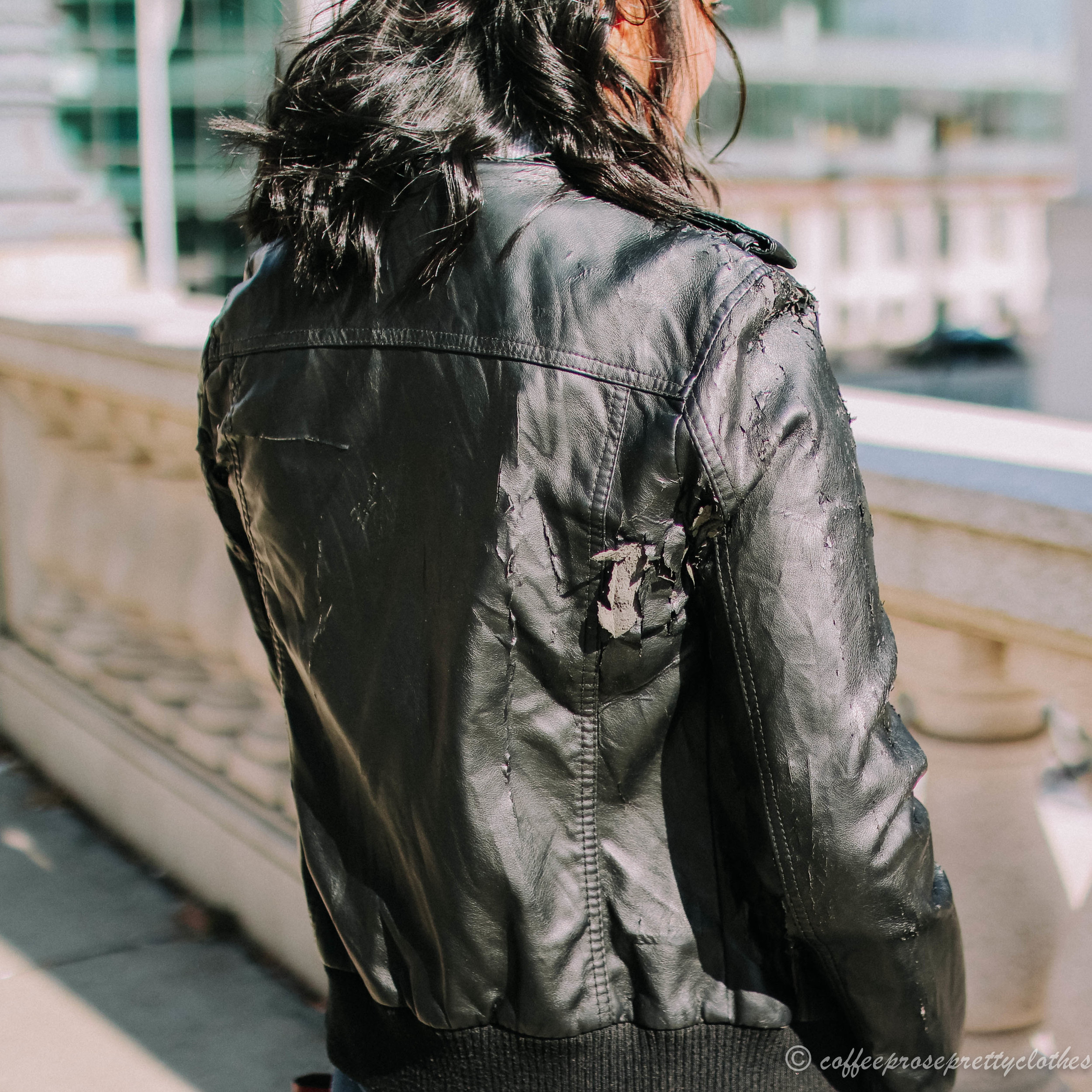 Lefties Leather jacket