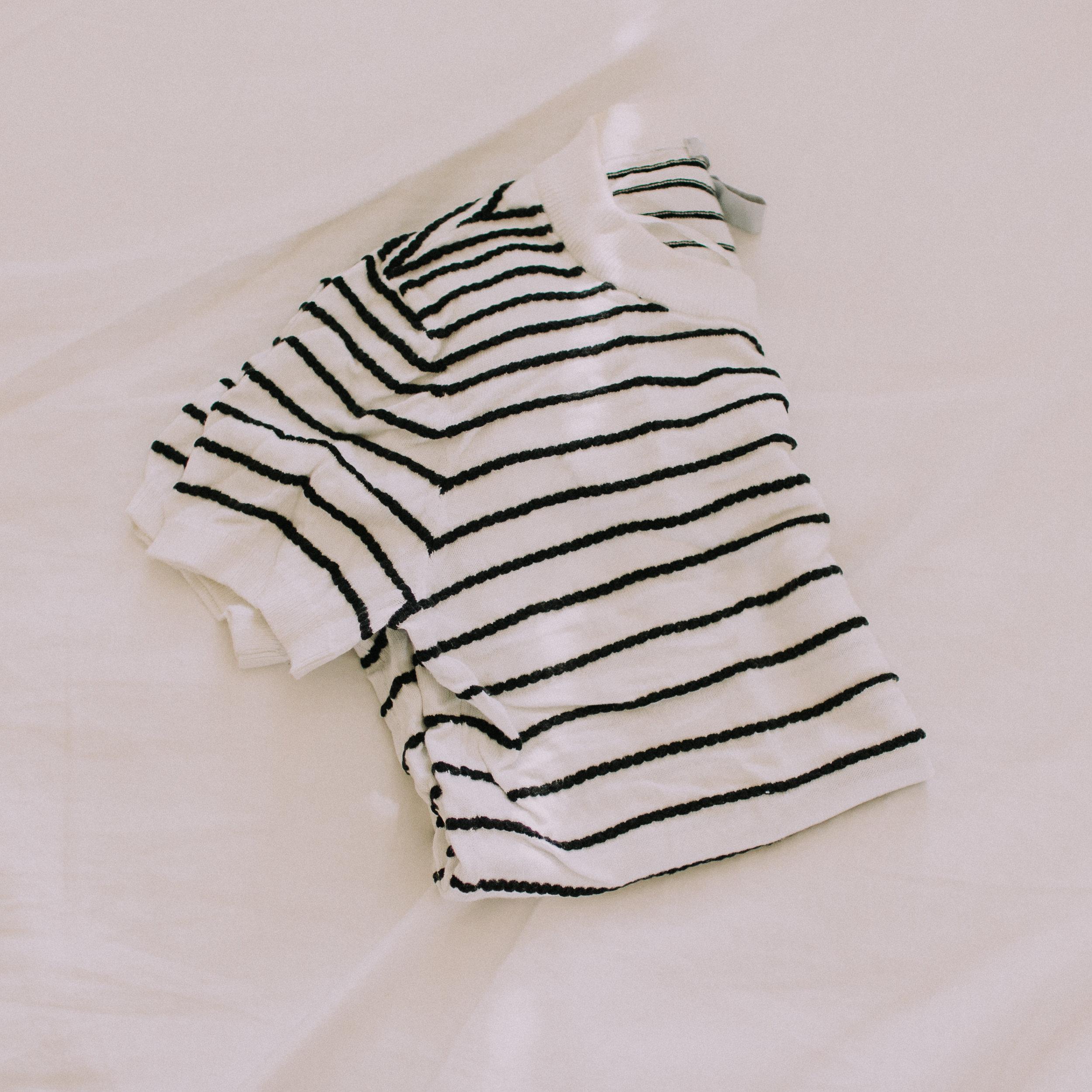 H&M striped tee