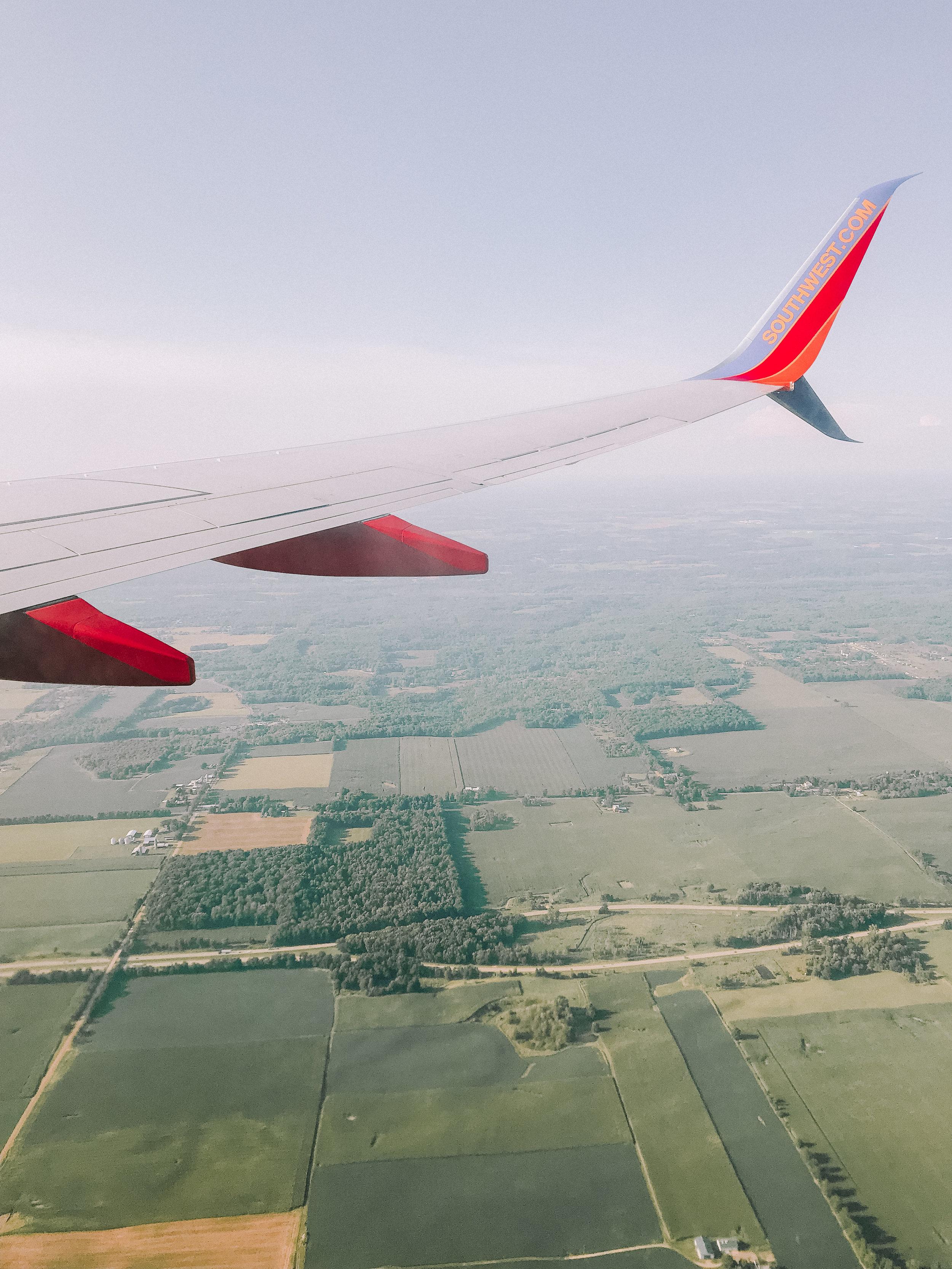 Southwest Flight to Grand Rapids