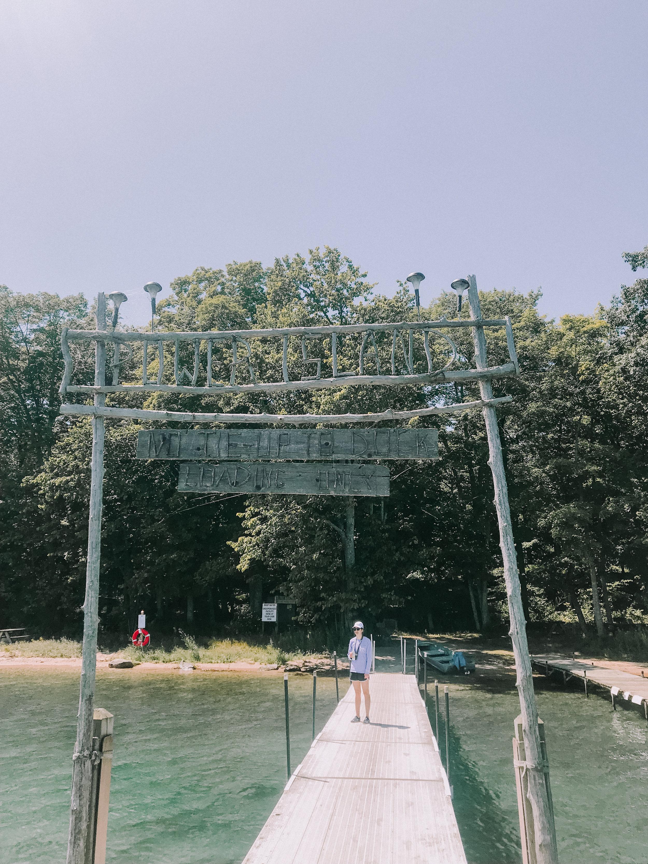 Traverse City, MI Travel Diary Power Island
