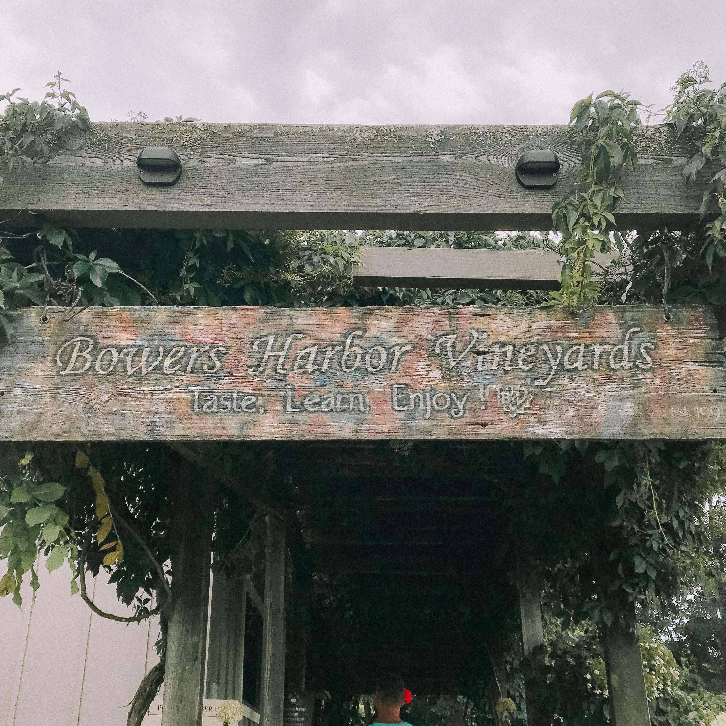 Traverse City, MI Travel Diary Bowers Harbor Vineyard