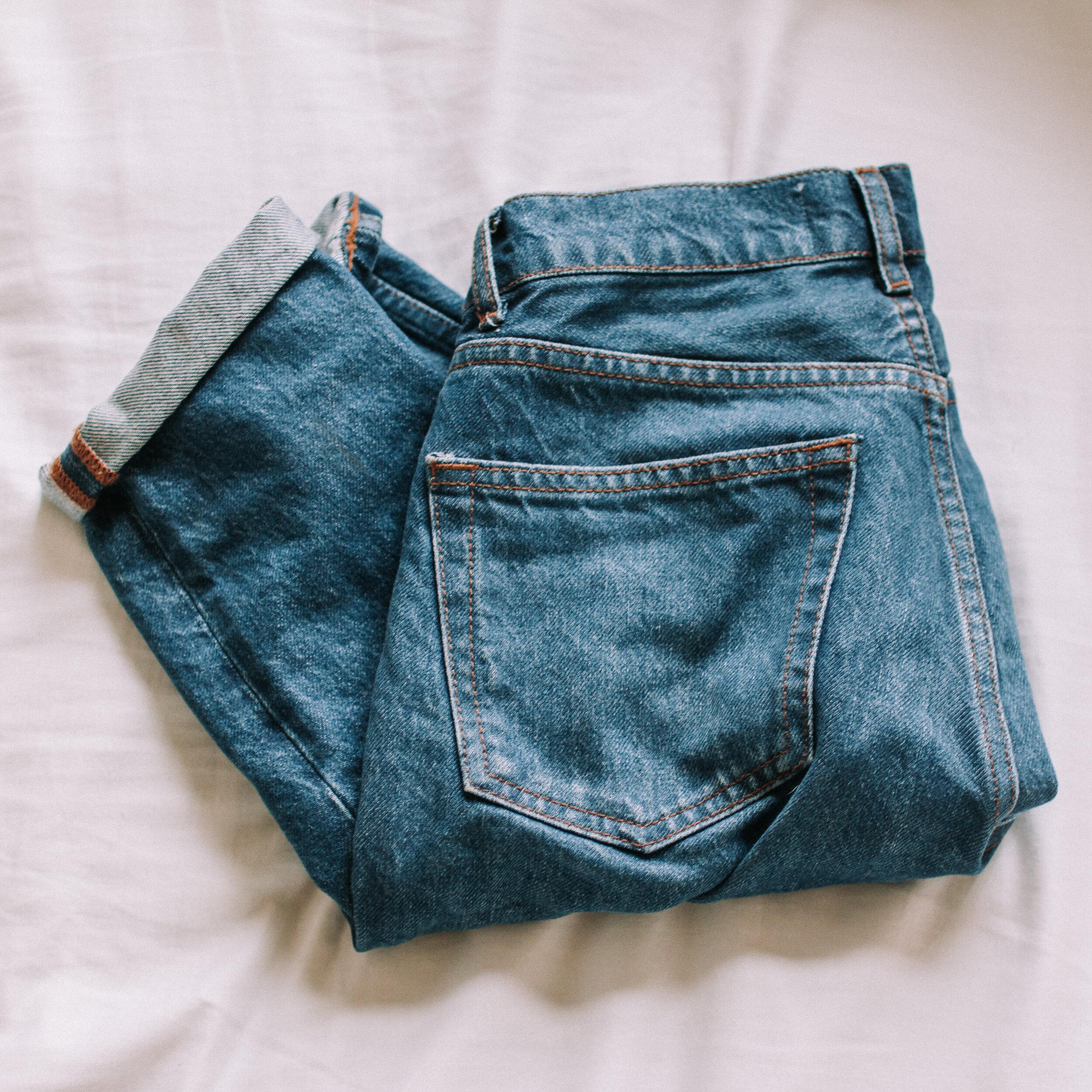Reformation Julia crop cigarette jeans