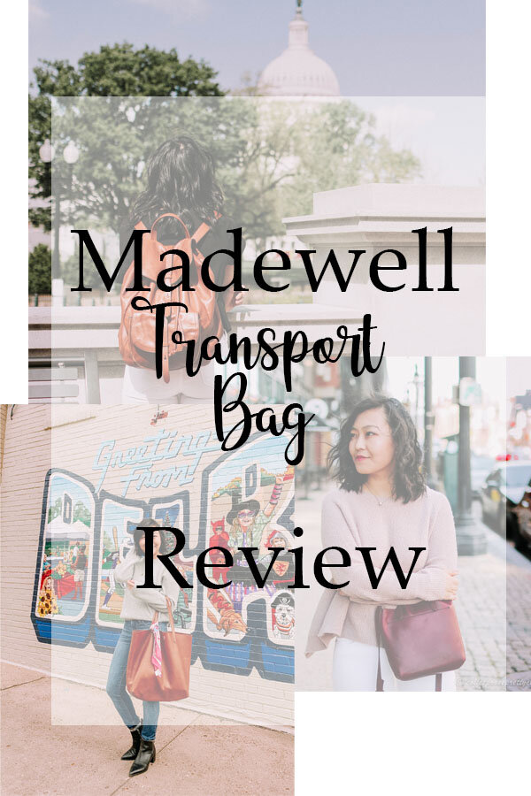 Madewell Transport Bags Review