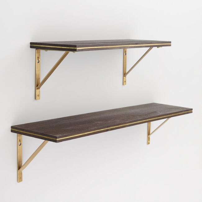 wall mount shelves