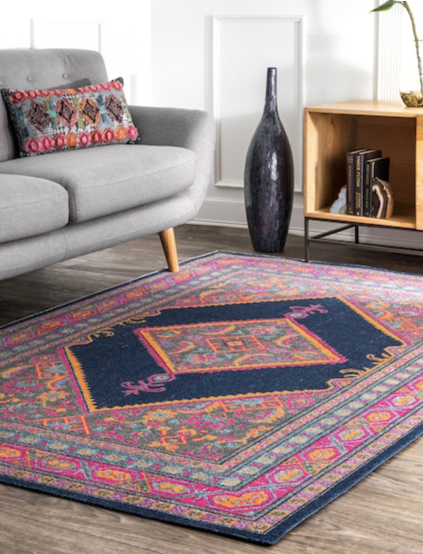our existing area rug